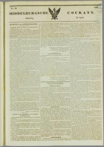Middelburgsche Courant 1846-04-25