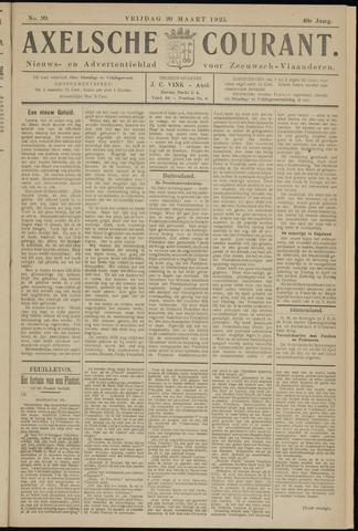 Axelsche Courant 1925-03-20