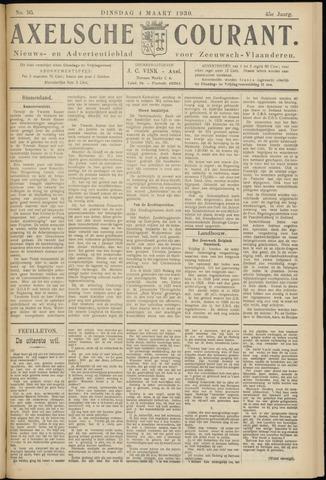 Axelsche Courant 1930-03-04