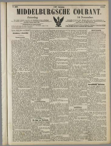 Middelburgsche Courant 1903-11-14