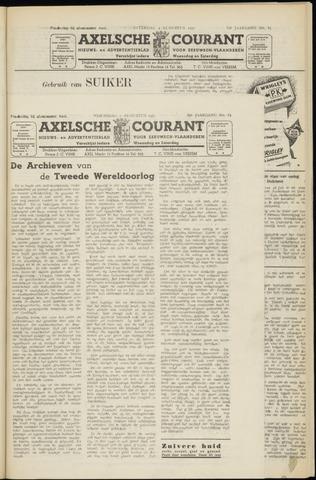 Axelsche Courant 1951-08-01