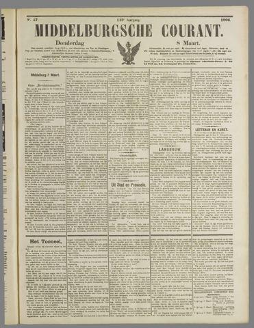 Middelburgsche Courant 1906-03-08