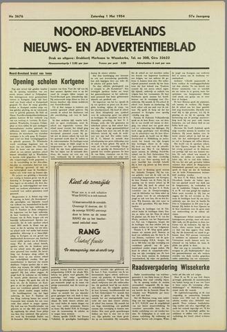 Noord-Bevelands Nieuws- en advertentieblad 1954-05-01