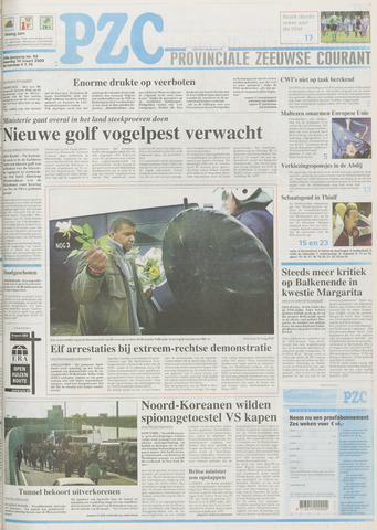Provinciale Zeeuwse Courant 2003-03-10