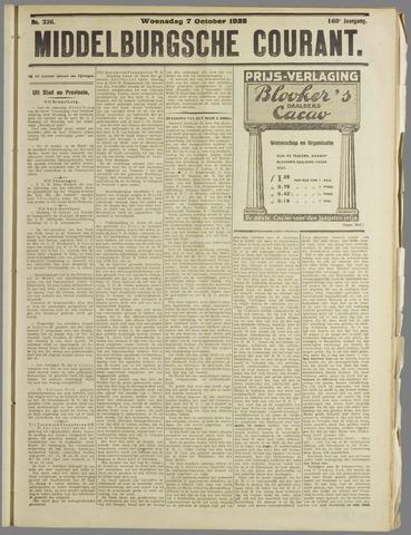 Middelburgsche Courant 1925-10-07