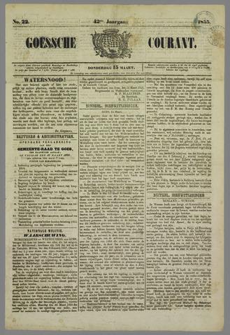 Goessche Courant 1855-03-15