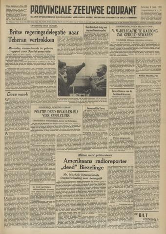 Provinciale Zeeuwse Courant 1951-08-04