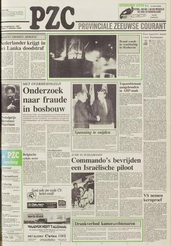 Provinciale Zeeuwse Courant 1986-10-17