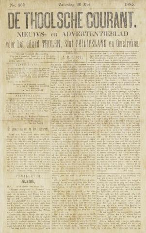 Ierseksche en Thoolsche Courant 1885-05-16