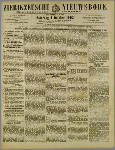 Zierikzeesche Nieuwsbode 1902-10-04