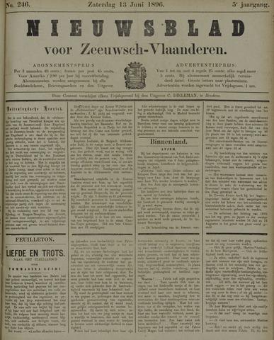 Nieuwsblad voor Zeeuwsch-Vlaanderen 1896-06-13