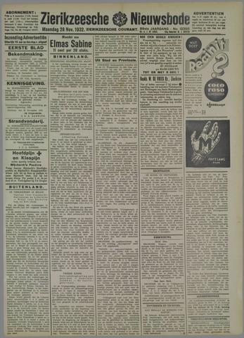 Zierikzeesche Nieuwsbode 1932-11-28