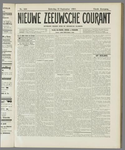 Nieuwe Zeeuwsche Courant 1908-09-12
