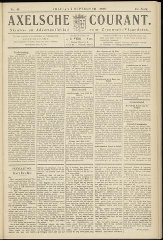 Axelsche Courant 1928-09-07