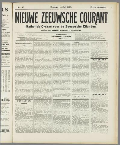 Nieuwe Zeeuwsche Courant 1905-07-15