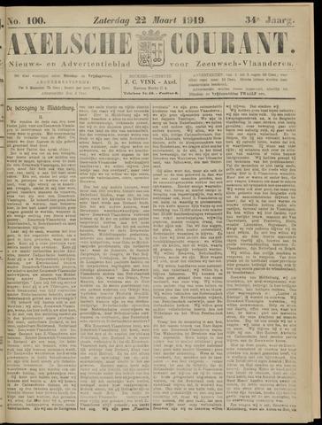Axelsche Courant 1919-03-22