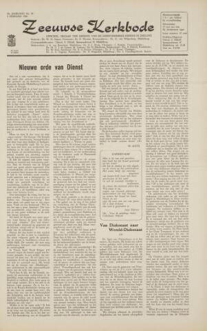 Zeeuwsche kerkbode, weekblad gewijd aan de belangen der gereformeerde kerken/ Zeeuwsch kerkblad 1966-02-04