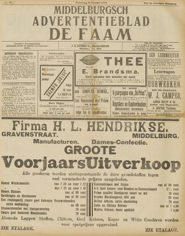 de Faam en de Faam/de Vlissinger 1917
