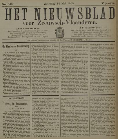 Nieuwsblad voor Zeeuwsch-Vlaanderen 1898-05-14