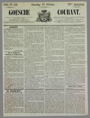 Goessche Courant 1881-10-25