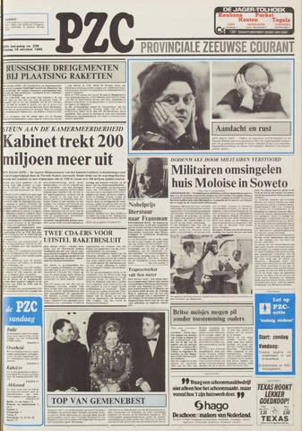 Provinciale Zeeuwse Courant 1985-10-18