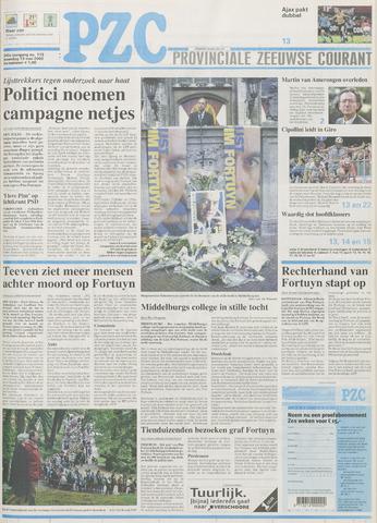 Provinciale Zeeuwse Courant 2002-05-13