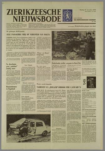 Zierikzeesche Nieuwsbode 1973-11-27