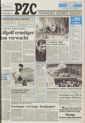 Provinciale Zeeuwse Courant 1986-11-10