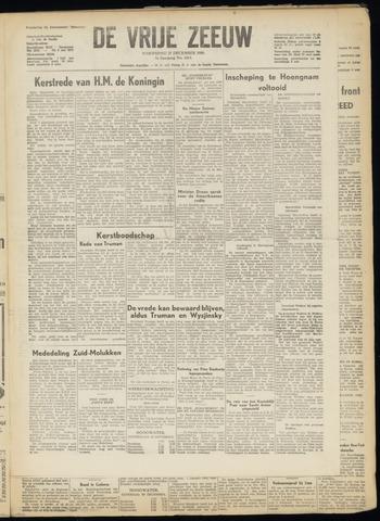 de Vrije Zeeuw 1950-12-27