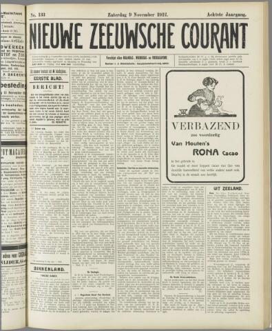 Nieuwe Zeeuwsche Courant 1912-11-09