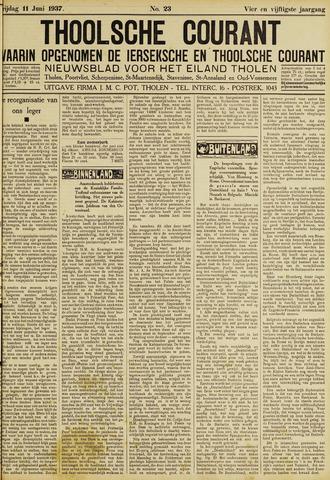 Ierseksche en Thoolsche Courant 1937-06-11