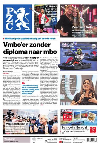 Provinciale Zeeuwse Courant 2017-02-20