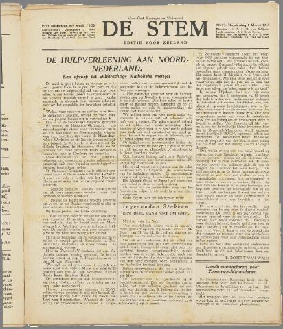 de Stem 1945-03-01