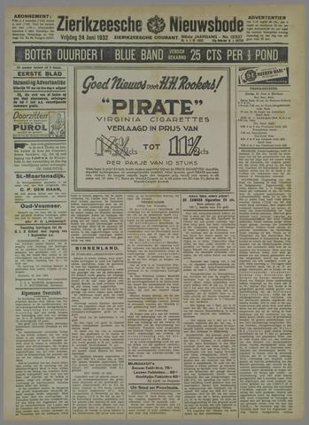 Zierikzeesche Nieuwsbode 1932-06-24