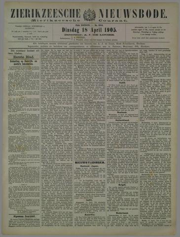 Zierikzeesche Nieuwsbode 1905-04-18