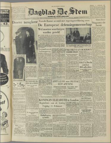 de Stem 1952-02-08