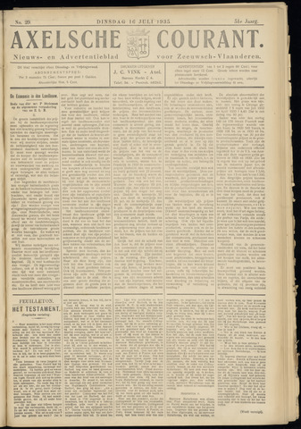 Axelsche Courant 1935-07-16