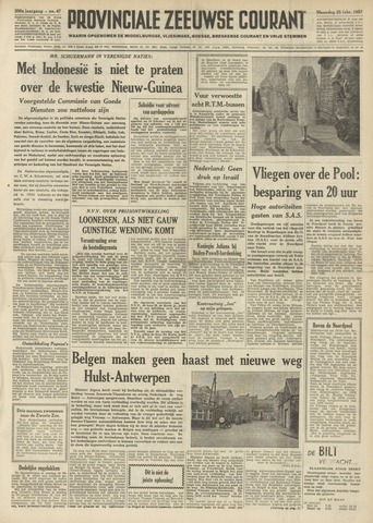 Provinciale Zeeuwse Courant 1957-02-25