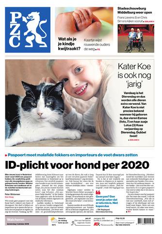 Provinciale Zeeuwse Courant 2018-10-04