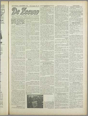 De Zeeuw. Christelijk-historisch nieuwsblad voor Zeeland 1943-12-01