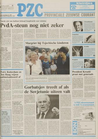 Provinciale Zeeuwse Courant 1991-08-28