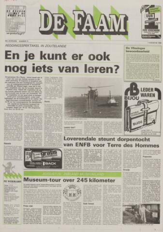 de Faam en de Faam/de Vlissinger 1988-08-03
