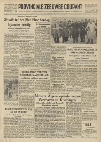 Provinciale Zeeuwse Courant 1954-05-03