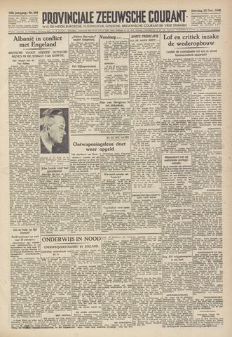 Provinciale Zeeuwse Courant 1946-11-23
