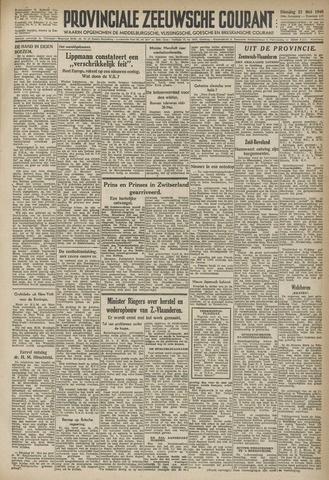 Provinciale Zeeuwse Courant 1946-05-21