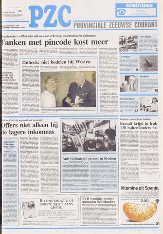 Provinciale Zeeuwse Courant 1990-11-08