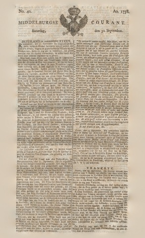 Middelburgsche Courant 1758-09-30
