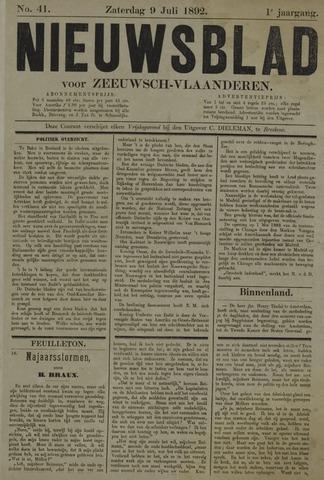 Nieuwsblad voor Zeeuwsch-Vlaanderen 1892-07-09