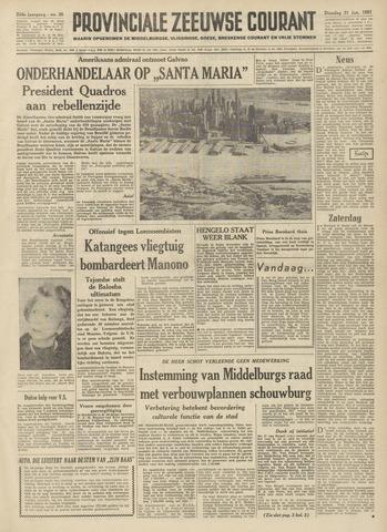 Provinciale Zeeuwse Courant 1961-01-31