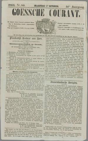 Goessche Courant 1864-10-17